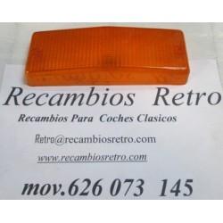 PLASTICO TRASERO DERECHO AMBAR SEAT-124 D