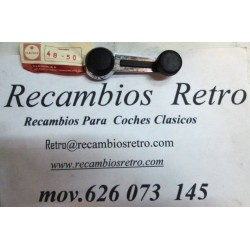 MANETA ALZACRISTALES METALICA CLAUSOR SEAT-131