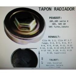 TAPON RADIADOR RENAULT...
