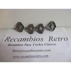 ROMBO CROMADOS  ( JGO.DE 4...